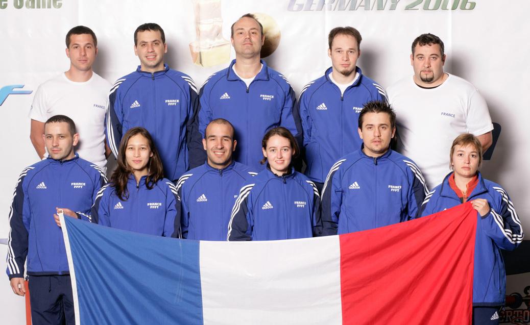 Equipe de france 2006 f d ration fran aise de football - Federation francaise de football de table ...