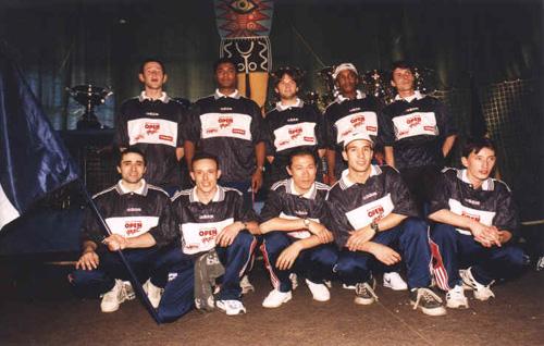 Equipe de france 1998 f d ration fran aise de football - Federation francaise de football de table ...